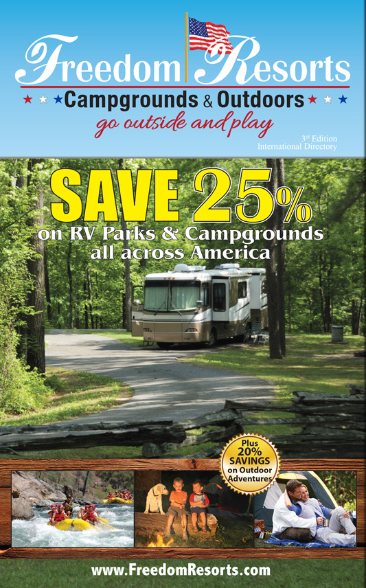Freedom Campgrounds & Outdoors Savings Directory