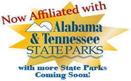 Now affiliated with Alabama State Parks!